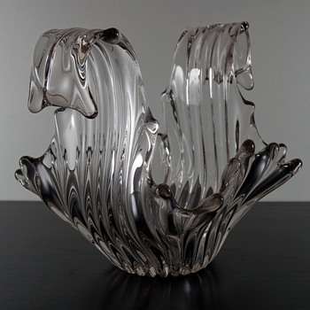 #28 Variation on a Splash Bowl by Cofrac  - Art Glass