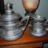 Egyptian Silver Set