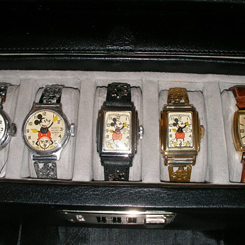 Early Mickey Mouse Watches - Wristwatches