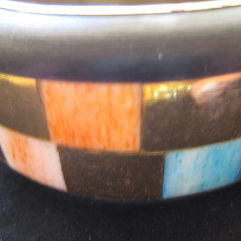 Art deco bangle??? - Costume Jewelry