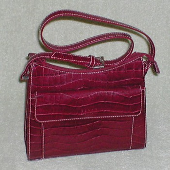 Ladies Crazy Horse Handbag - Accessories