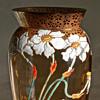 Moser Enameled Narcissus Vase c.1900
