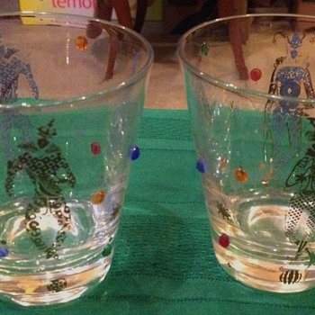 Decorative Glasses Unknow mfg. or year or style