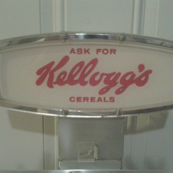 Kelloggs Cereal Display Rack