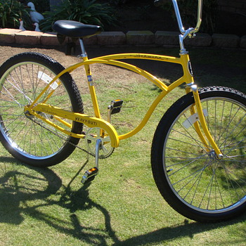 Kevin's Unrestored  1980 Schwinn Heavy Duti . - Outdoor Sports