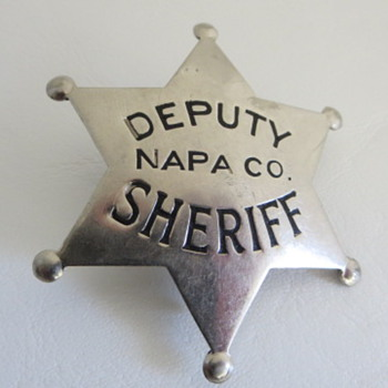 Napa, CA. Badges