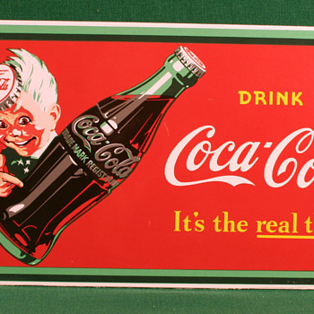 It&#039;s the Real Thing-Reproduction  - Coca-Cola