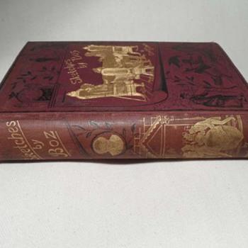 charles dickins 1887 book walter scott london  - Books