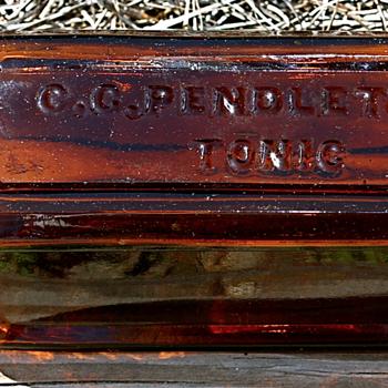 ****C. C. PENDLETON'S TONIC**** - Bottles