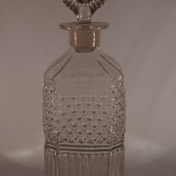 Mould Blown Decanter - Art Glass
