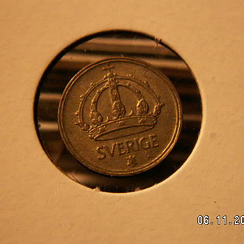 1945 Sverige (Sweden) 10 Öre - World Coins