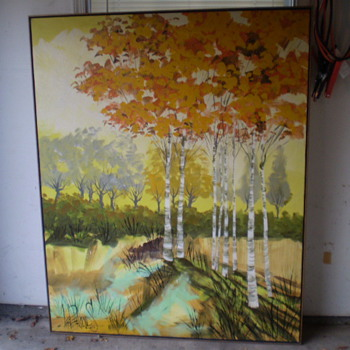 Lee Reynolds Painting