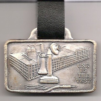 Kellogg Switchboard &amp; Supply Watch Fob - Telephones