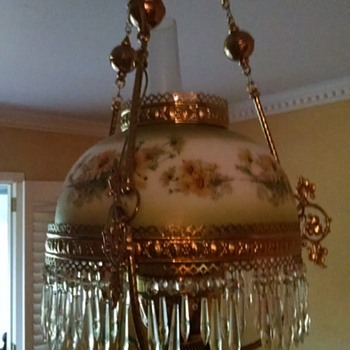 Original Piece of Texas History Chandelier