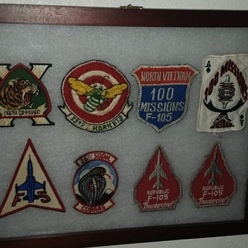 vietnam airforce patch collection - Military and Wartime