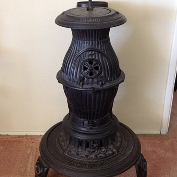 Southern Pacific Railroad Depot Stove - Railroadiana