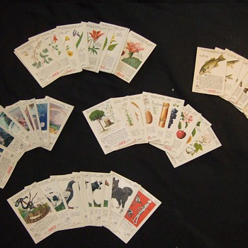 "1930's coca cola ""nature study"" cards. - Coca-Cola"