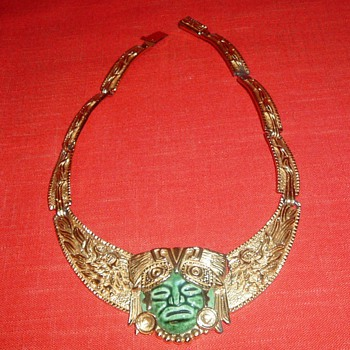 Mayan? - Costume Jewelry