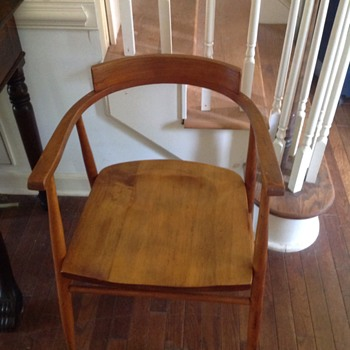 Not sure of this chairs history.....was a family piece Information would be great of its heritage! Thank you! - Furniture