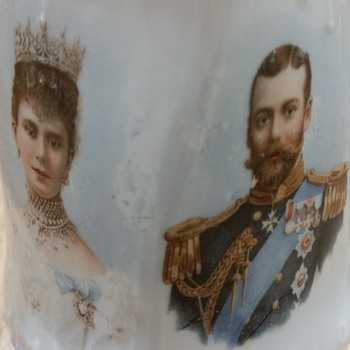 King George V jug