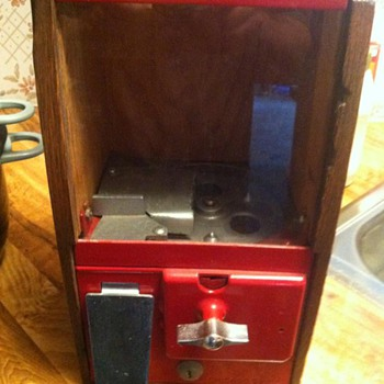 1940's Gumball Machine  - Coin Operated