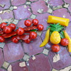 1930s Bakelite Tropical Fruit and Cherry Brooch Pins