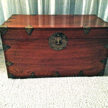 Antique or Vintage  Chinese or Korean Chest