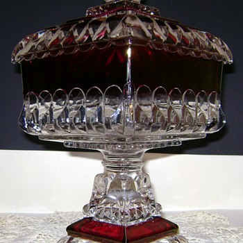 Westmoreland Cake Dish - Glassware