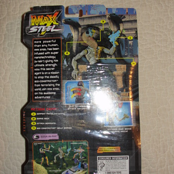 Vintage Max Steel action figure