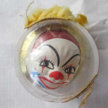 CandyWorld Creations clown ornament