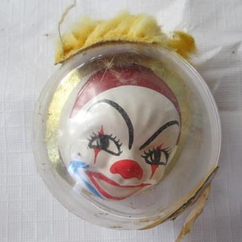 CandyWorld Creations clown ornament