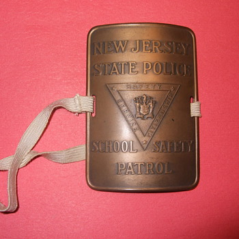 New Jersey State Police School Safety Patrol - Badge