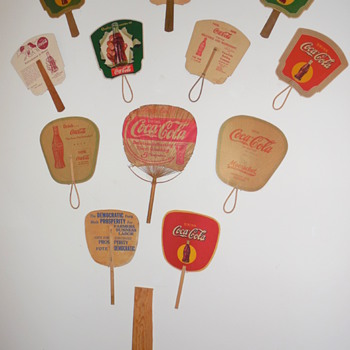 Coca-Cola Fans Display - Coca-Cola