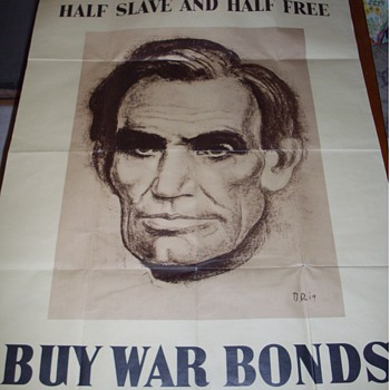 Lincoln War Poster.