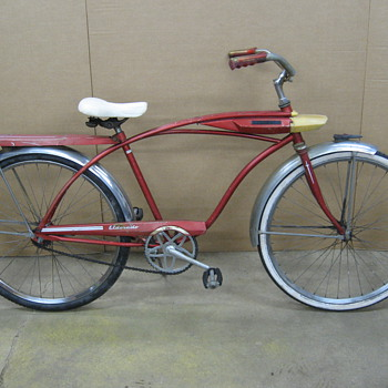 Huffy Eldorado tank bicycle.