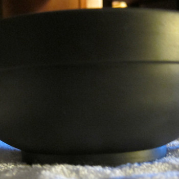 Black Basalt Wedgwood Bowl  (also spelled Basaltes) - China and Dinnerware
