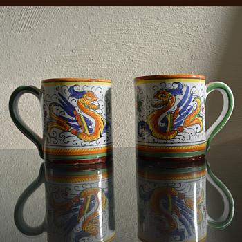 Deruta Raffaellesco Italian Pottery