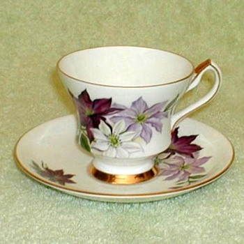 """Society"" Bone China Cup & Saucer"