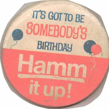 Hamm&#039;s Button - Advertising