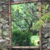 Repurpose salvage old mirror.