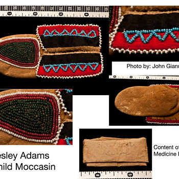 Child Moccasin - Native American