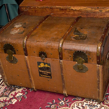 Vintage Trunk - Furniture