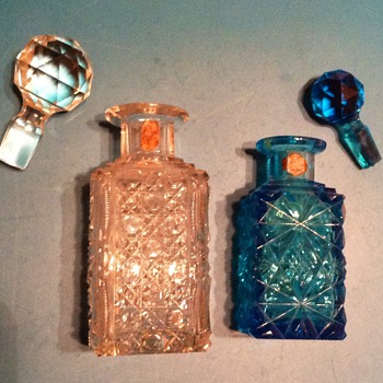 ANTIQUE PERFUME BOTTLES? E.F. CRISTALL