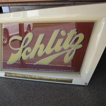 Schlitz Sign - Breweriana