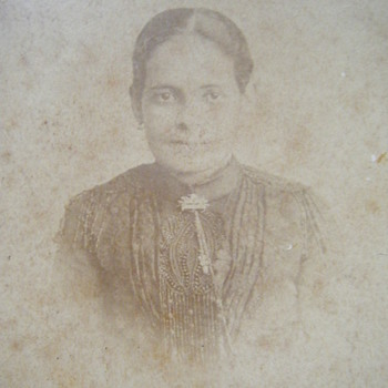 MY GREAT GRAND MOTHER - Photographs