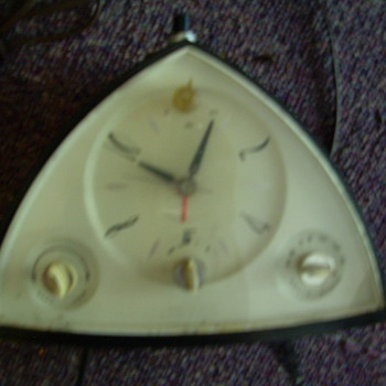 Sears Electric Clock and Radio from 60&#039;s