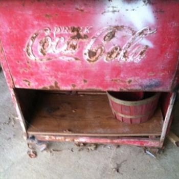 1939 Coca Cola cooler