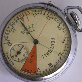 E. Ingrahm Pastor Sports Stop Watch - Pocket Watches