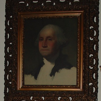 First President Of The United States Of America...George Washington - Posters and Prints
