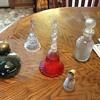 Avon bottles and bells